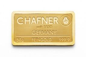 50 Gramm Feingold C.Hafner