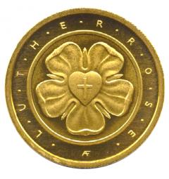 50 Euro Lutherrose Feingoldhandelde