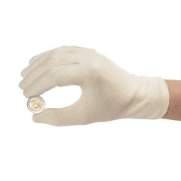 Münzhandschuhe aus Baumwolle