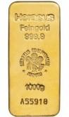 Goldbarren 1 kg Feingold