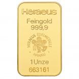 Goldbarren 1 Unze