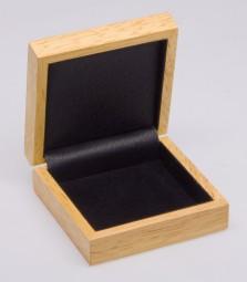 Holzetui für Barren und Münzen