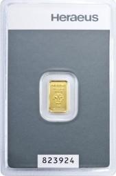Goldbarren 1 Gramm kinebar™