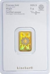 Goldbarren 5 Gramm kinebar™