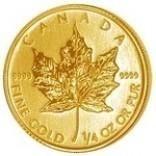 Maple Leaf 1/4 Unze zur Lagerung