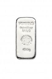 Silberbarren 500 Gramm Feinsilber