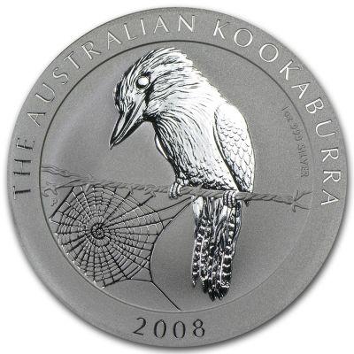 Kookaburra 1 oz Ag 2008
