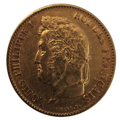 40 Francs Louis Philippe I. 1837