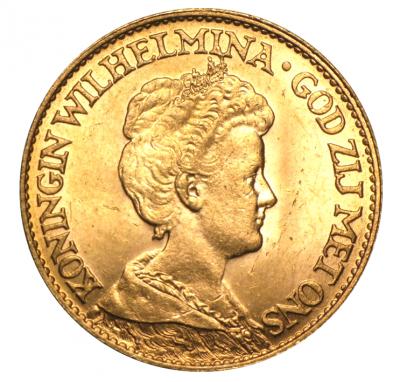 10 Gulden Wilhelm oder Wilhelmina