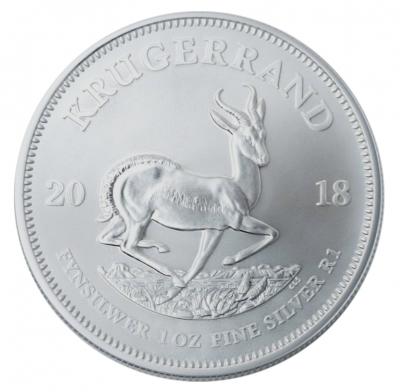 Krügerrand 1 Unze Ag / 100 Stück