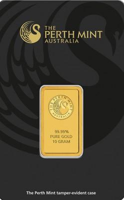 Goldbarren 10 Gramm Perth Mint