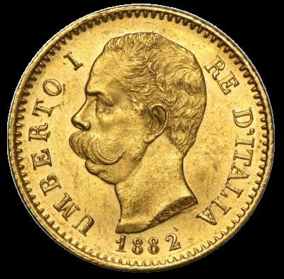 20 Lire Umberto I.