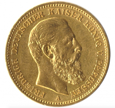 20 Mark Preussen Friedrich III. Jäger 248