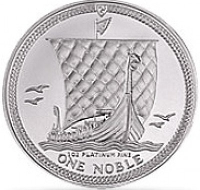 Platin Noble Isle of Man 1 Unze