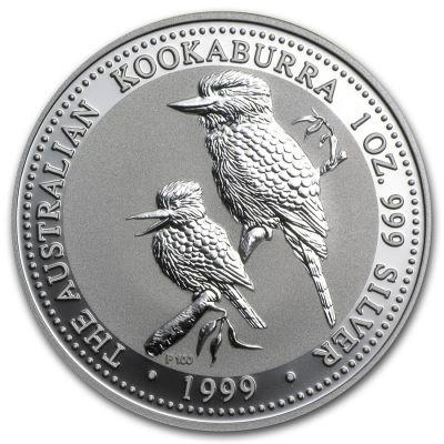 Kookaburra 1 oz Ag 1999