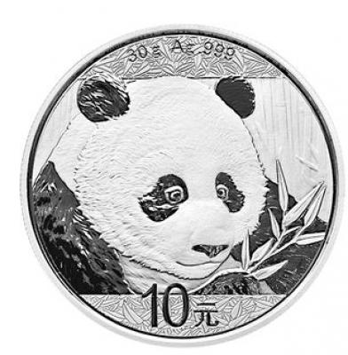 Panda 30 Gramm Silber