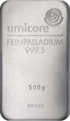 Palladiumbarren 500 g