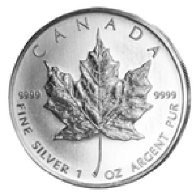 500 x Maple Leaf 1 oz zur Lagerung