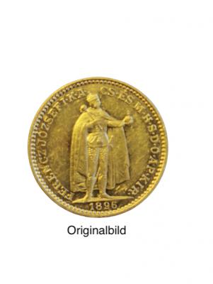 20 Kronen Ungarn Gold 1896