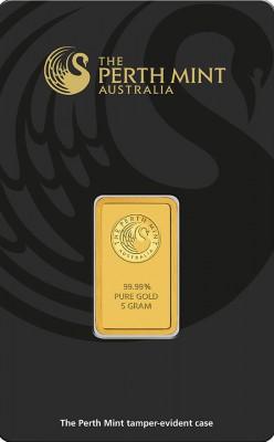 Goldbarren 5 Gramm Perth Mint