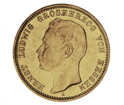 20 Mark Ernst Ludwig Hessen Jäger 225