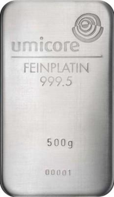 Platinbarren 500 Gramm Feinplatin