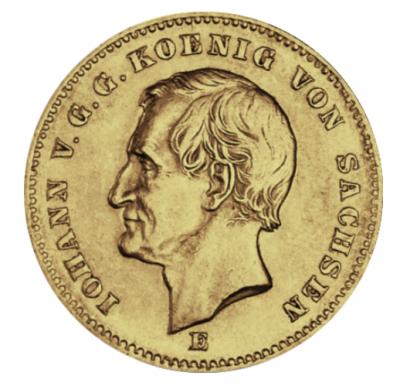 20 Mark Sachsen Johann I. Jäger 258