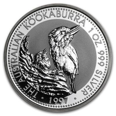 Kookaburra 1 oz Ag 1997