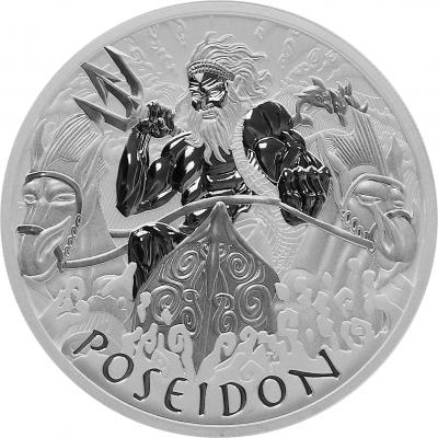 Poseidon 1 Unze Ag 2021