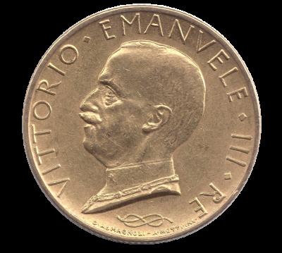 100 Lire Viktor Emanuel III.