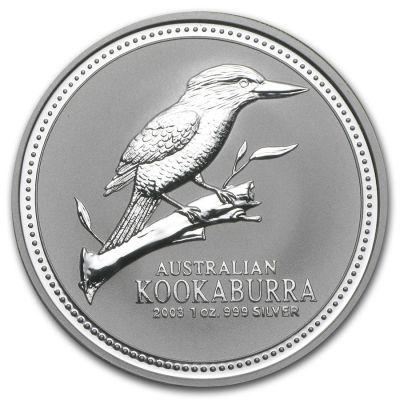 Kookaburra 1 oz Ag 2003