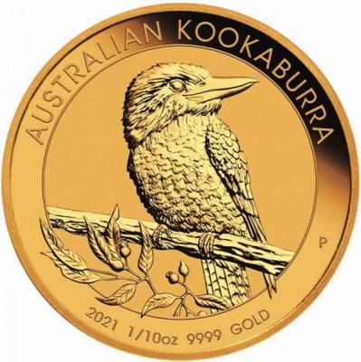 Kookaburra 1/10 Unze 2021