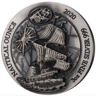 Nautical Ounce Mayflower 2020 3 Unzen High Relief