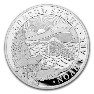 Arche Noah  5 Unzen Silber