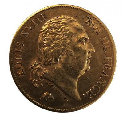 40 Francs Louis XVIII. 1818