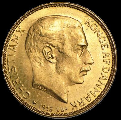 20 Kronen Christian X.