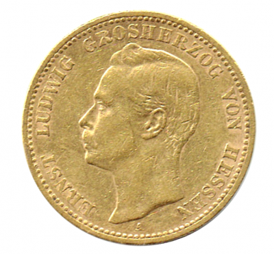20 Mark Ernst Ludwig Hessen