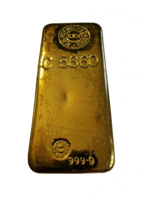 Goldbarren 1 kg Rothschild