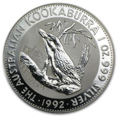 Kookaburra 1 oz Ag 1992