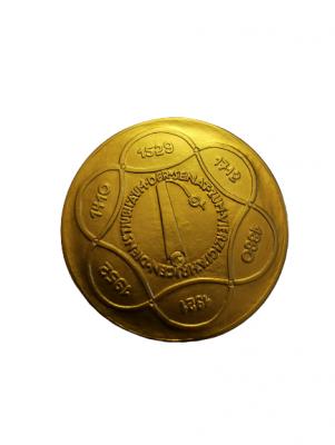 Hamburg Stadt Goldmedaille zum 40sten Dienstjubiläum