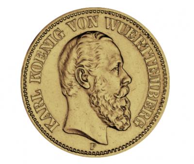 20 Mark Württemberg Karl Jäger 293