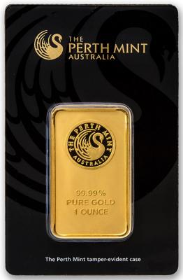 Goldbarren 1 Unze Perth Mint