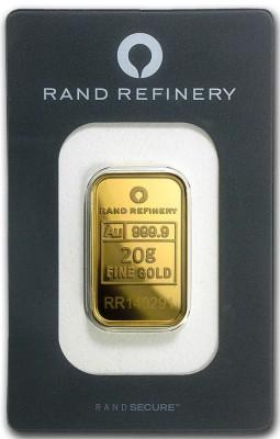 Goldbarren 20 Gramm Rand Refinery