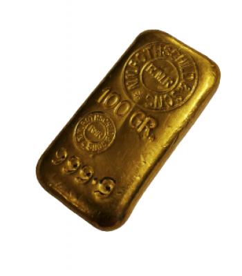 Goldbarren 100 Gramm Feingold Rothschild