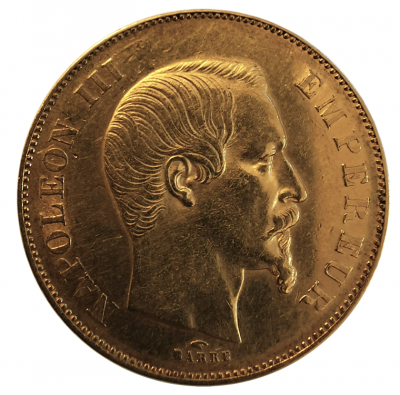 50 Francs Napoleon III. 1856