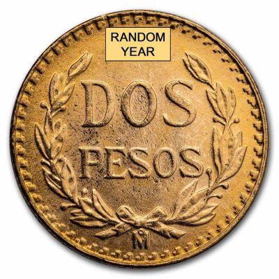 2 Peso Mexico Gold