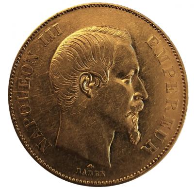 50 Francs Napoleon III. 1855 BB