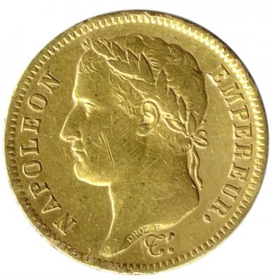 40 Francs Napoleon I.