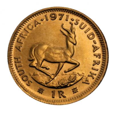 Goldmünze 1 Rand