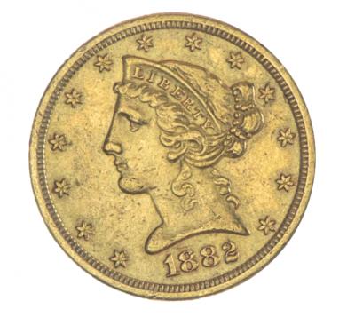 5 Dollar Liberty Head